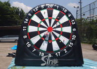 China 3m high 3in1 giant inflatable golf dart board with support base for kids N adults from golf dart game factory company