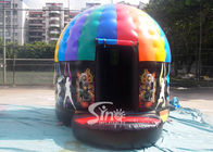 China Kids N Adults Inflatable Music Disco Dome Bouncy Castle With Light Hooks On Top For Outdoor N Indoor Parties company