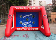 China Kids N Adults Inflatable Football Goal Games With Big Shoot company