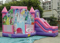 6x5m Commercial Kids Party Inflatable Princess Bouncy Castles With Slide From Sino Inflatables