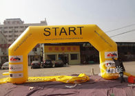 Outdoor big custom size inflatable start line arch with logo fully digitally printed