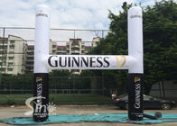 White N Black Guinness inflatable advertising arch for outdoor promotion activities