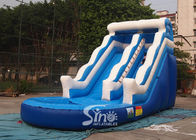18' wave commercial kids inflatable water slide with EN14960 certified for summer parties