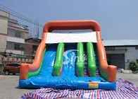 New Heavy Duty Vertical Rush Inflatable Pool Slides For Inground Pools From China