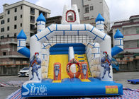 Outdoor Inflatable Jumping Castle Bounce House With Slide For Sale From China Factory