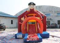 Outdoor Pirate Inflatable Bounce Slide Combo For Kids Outdoor Party Fun