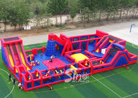 China 30x15m kids N adults big indoor inflatable theme park for indoor inflatable playground fun company