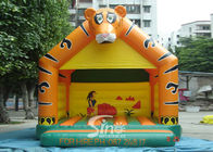 Lovely Blow Up Kids Inflatable Tiger Jumping Castles for kids Inflatable Bouncy Castle Fun