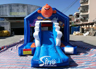 Small Inflatable Bounce House Bouncy Castle With Slide Combo Jumper For Inflatable Games Bounce House Slide Combo