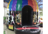 Kids N adults inflatable music disco dome bouncy castle with light hooks on top for outdoor N indoor parties