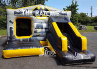 18x12 Kids Inflatable Batcave Disco Bouncy Castle With Slide CE EN14960 EN71