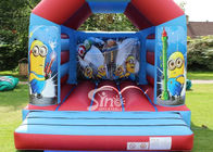 Commercial Children Inflatable Jumping Castles With Despicable Me Theme