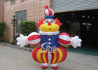Commercial Grade Advertising Inflatables Funny Clown Moving Cartoon