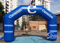 Custom size advertising inflatable arch for Caverian promotion from China inflatable factory