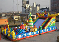 20x10m outdoor kids giant inflatable amusement park made of 1st class pvc tarpaulin from China inflatable manufacturer