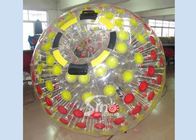 China Mega transparent inflatable zorb ball for childrens and adults roll inside company