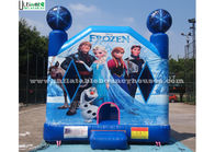 Good Quality Inflatable Bounce Houses & Commercial Grade Kids Frozen Inflatable Bounce Houses With Obstacles For Parties on sale