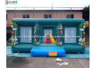 China Commercial Jungle Themed Bouncy Castle , Rent Inflatable Bouncers company