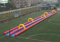 Good Quality Inflatable Bounce Houses & Custom Inflatable Slip And Slide / Slide The City Water Slide 300M Long on sale