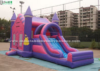 China Commercial Grade Princess Inflatable Jumping Castles For Kids Outdoor Parties company