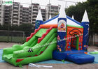 China Commercial Wizard Childrens Bouncy Castle With Slide For Parks , Garden company