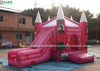 China Pink Fairytale Jumping Castles Princess Palace Bounce House For Girls company