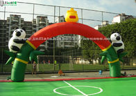 China Cute Panda Inflatable Arches Door For Outdoor Parties Or Activities factory
