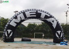 China Tyre Advertising Inflatable Arches Made Of 1st Class PVC Tarpaulin factory