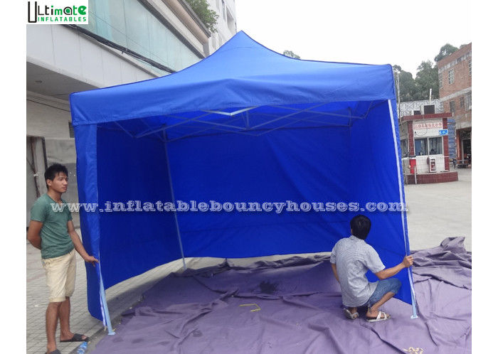 Blue Folding Inflatable Camping Tent Giant For Commercial