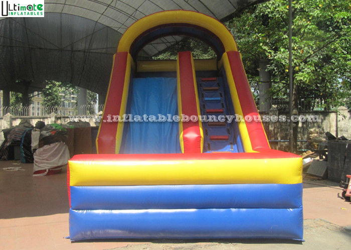Outdoor Inflatable Dry Slide For Kids Inflatable Pool Slides For Water Park