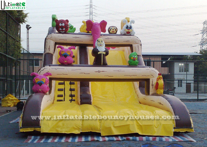 Noah's Ark Commercial Inflatable Slides Made Of 0 55 MM