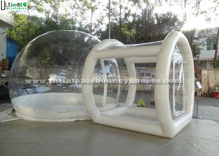 transparentes aufblasbares blasen zelt oder luft aufblasbares zelt f r das kampieren. Black Bedroom Furniture Sets. Home Design Ideas