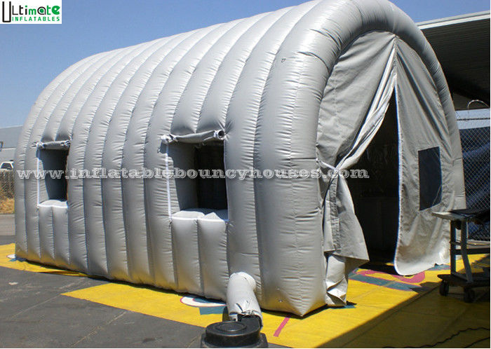 Grey Tunnel Air Inflatable Tents With Windows  Inflatable Family Tent OEM & Grey Tunnel Air Inflatable Tents With Windows  Inflatable Family ...
