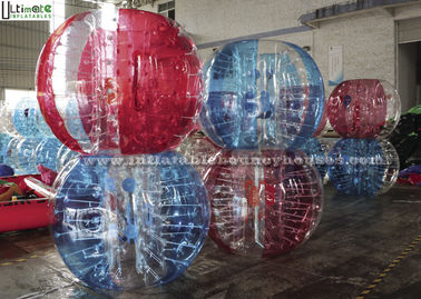 Custom PVC TPU Inflatable Body Balls , Large Round Kids Loopy Balls