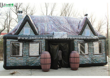 China Custom Made Air Inflatable Tents , Full Printing Inflatable Pub Tent factory