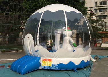 China Outdoor Bounce House Snowman Inflatable Kids Jumping Bouncer for Garden factory