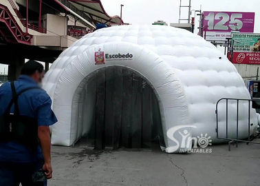 China Mobile Blow Up Sanitizing Igloo Dome Inflatable Disinfection Tent Tunnel For Covid -19 Emergency Outdoor factory