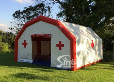 China Portabble Blow Up Rescue Shelter Inflatable Medical Tent For Outdoor Inflatable Hospital Equipment factory