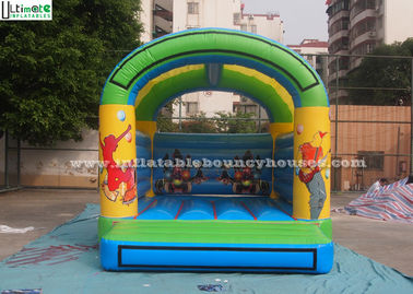 Children's Party Inflatable Bouncy Castles with 610g/m2 PVC Tarpaulin