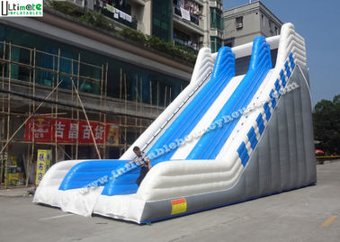 9M High Commercial Grade Adult Giant Inflatable Slide Outdoor in Blue and White