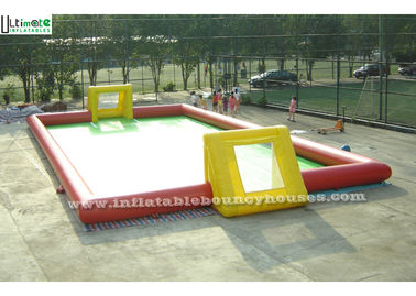 Giant Inflatable Football Field Inflatable Games For Adults Children