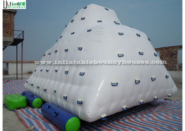 Commercial Sports Iceberg Big Inflatable Water Toys for Kids , Adults
