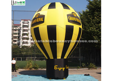 Outdoor Roof Top Large Inflatable Balloons Personalized , EN14960 Standard