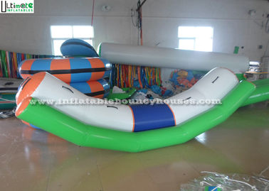 Small Seasaw Inflatable Water Toys for Lake, Made Of 1150g/m2 PVC Tarpaulin