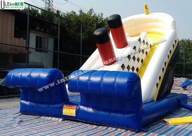 "Adults Titanic Ship Inflatable Slides / Commercial Inflatable Slides 21"" High"