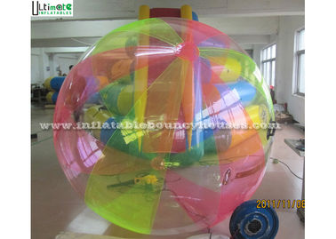 2.0m Colorful Inflatable Human Hamster Ball You Can Get Inside And Walk On Water