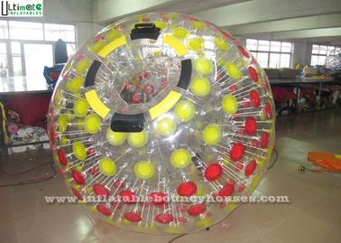 2 Persons Big Sports Inflatable Zorb Balls , Inflatable Balls That You Get Inside Of