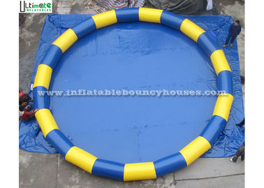 Portable Round Inflatable Swimming Pool Made Of 1150g/m2 PVC Tarpaulin