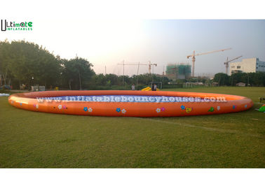 0.9MM PVC Tarpaulin Giant Inflatable Water Pools For Water Games