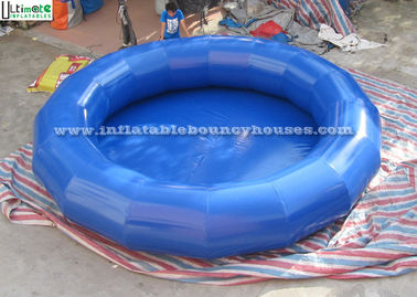 Portable Mini Round Inflatable Water Pools Made Of 650g/m2 PVC Tarpaulin